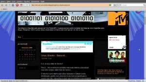 Ubuntu na MTV