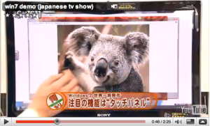 Um koala infiltrado no Win7