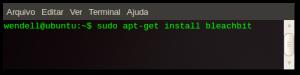 Instalação do Bleachbit no Ubuntu