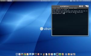Ubuntu com GNOME 3 e o tema Malys Universal e NORD